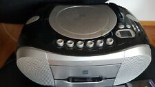Tragbarer Kassettenrecorder-CD Player-Radio mit 5 Kassetten Gratis