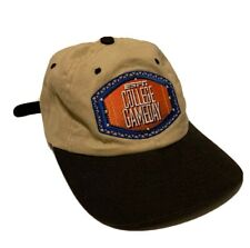 Vintage ESPN College Gameday NCAA Football Leather Strapback Hat Adult One Size