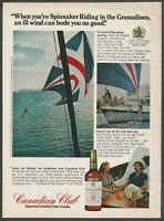 CANADIAN CLUB whisky - 1974 Vintage Print Ad
