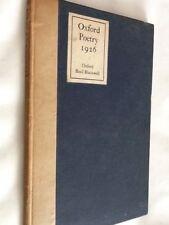 OXFORD POETRY 1926  - Hardback 1926