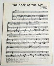 Partition sheet music OTIS REDDING / STEVE CROPPER : The Dock of the Bay * 60's