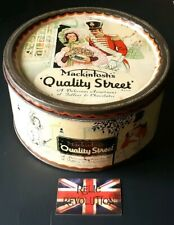 Vintage Quality Street Toffee/Confectionary Large Tin.. Advertising/Collectable