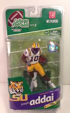 McFARLANE NCAA COLLEGE FOOTBALL 3 JOSEPH ADDAI LSU TIGERS NFL COLTS FIGURE RB