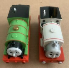 2009 Thomas & Friends (Percy + Stanley) Motorized Trains.  Plus Two PEZ Case!