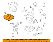 81336-S9V-A02 Honda Genuine Seat Cushion Frame