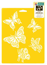 BUTTERFLIES STENCIL BUTTERFLY INSECT WINGS STENCILS TEMPLATE CRAFT DELTA NEW