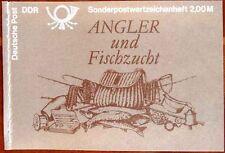 DDR Markenheftchen Angler und Fischzucht 10 Pf postfrisch