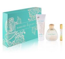 Nanette Lepore Perfume 3 Piece Gift Set for Women Includes Full Size 3.4oz  NEW