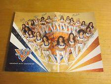 2012-13 New York Knicks Dancers Autographed Signed 10X14 Photo NBA Basketball