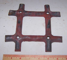 Antique Central Licking Stove Works Newark Ohio Cast Iron Part - Steampunk