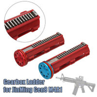 Upgrade Ladder Gearbox+Bearing Patter Head For JinMing Gen8 M4A1 Gel Ball Gun