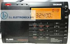 TECSUN PL-660 RICEVITORE PRO PORTATILE ALL MODE 1.7-30Mhz + AIRBAND ref  330001