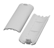 2x OFFICIAL Nintendo Wii White Battery Cover Case Back for Remote Controller N70