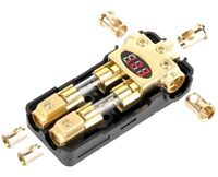 30.3901-50 New interior ACV agu fusibles 50 amperios oro 4 PCs