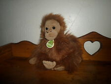 "Beautiful 12"" Aurora BABIES plush MONKEY"