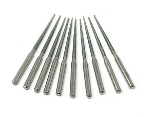 "10 Pack of 2"" Inch Tapered Diamond Tip Bead Reamers for Jewelry, Hobby, Crafts"