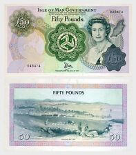 Isle of Man- £50 Banknote UNC  (6 Digits)