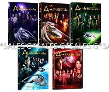 Andromeda Gene Roddenberry Complete TV Series Season 1-5 (1 2 3 4 5) NEW DVD SET