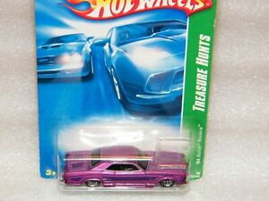 HOT WHEELS MOC Sealed TREASURE HUNT 64 Buick Riviera Rare Purple LOW RIDER 2007