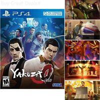 Yakuza 0 For PlayStation 4 Brand New Ps4 Games Factory Sealed
