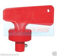 12v 24v RED BATTERY CUT OFF KILL ISOLATOR SWITCH SPARE KEY CAR BOAT RALLY MARINE