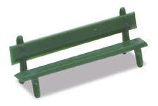 PECO LK-25 Platform Seats 12 x GREEN Plastic Kit '00' Gauge - 1st Class UK Post