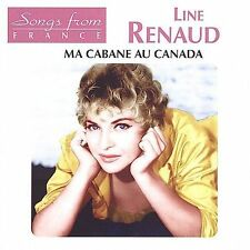 FREE US SHIP. on ANY 3+ CDs! NEW CD Line Renaud: Ma Cabane Au Canada Import
