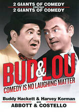 Bud & Lou: Comedy Is No Laughing Matter, Acceptable DVD, ,