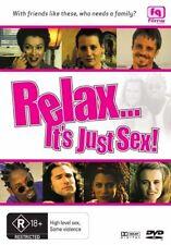 Relax . . . It's Just Sex! (DVD, 2008) New  Region Free