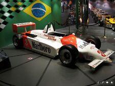 1/10 1983 Macau GP F3 Ralt RT3 Senna RC car body with decal for Tamiya F103 / 4W