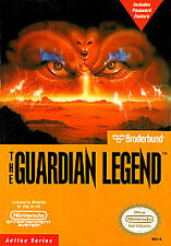 Guardian Legend with cosmetic flaws Super Nintendo System GAME ONLY NES HQ