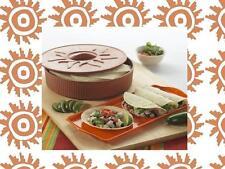 NORDICWARE Microwave TORTILLA WARMER Pancakes CREPES Waffles BREAD Tacos *NEW