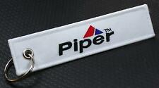 Piper Keychain for Flight Crew, Pilots, Airplane Owner