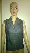 Hermès par Jean-Paul Gauthier Superbe blouse en lin façon jean - Excellent état