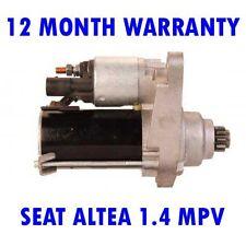SEAT ALTEA 1.4 MPV 2006 2007 2008 2009 2010 2011 - 2015 RMFD STARTER MOTOR