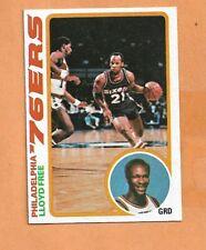 LLOYD FREE 76ERS TOPPS 78-79 CARD # 116