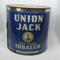 Union Jack Cut Plug Tobacco tin