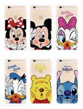 Disney Minnie Donald Winnie TPU Silicone Phone Case For iPhone X XS Max 5 6 7 8