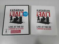 Kasabian Live ! Live at the O2 London 15/12/2011 Blu-ray + CD Region all - AM