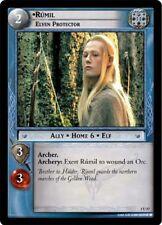 LoTR TCG FoTR Fellowship Of The Ring Rumil, Elven Protector FOIL 1U57