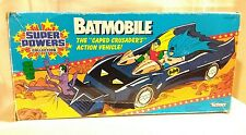 """Super Powers Collection """"Batmobile"""" by Kenner Toys 1984 Opened Box"""