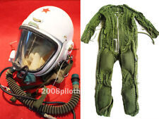 Flight Helmet SURPLUS HIGH ATTITUDE FIGHTER PILOT PRESSURE ANTI G FLIGHT SUIT