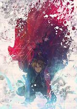 Fullmetal alchemist japonais anime edward elric A3 art imprimé photo affiche GZ6062