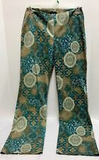 Bently Arbuckle Womens Pants Size 6 Multicolor