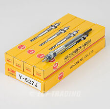 NGK Glow Plugs Y-527J Box of 4 Made in Korea, Ships from USA