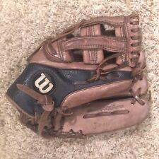 Wilson A1000 Baseball Glove 11.5 In. RHT A1000SCDW5SS Showcase Series ECCO Brown