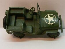DINKY #153 Army Military Jeep  With Star On Hood