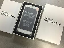 New Samsung Galaxy S III SGH-I747 - 16GB  Marble White (Unlocked) AT&T. Openbox
