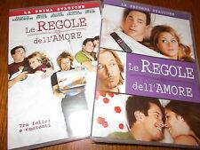 LOTTO 2 BOX DVD LE REGOLE DELL'AMORE  STAGIONE 1 E 2