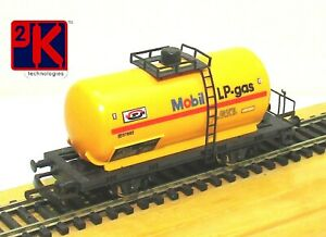 Lima L302717 Mobil 57882 Continental Small Tank Yellow LP-Gas Unboxed 00 Gauge